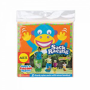 Frog & Monkey Sack Racing