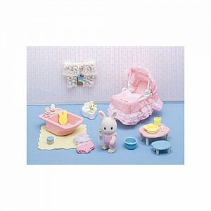 Calico Critters Baby's Love and Care Set