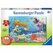 60pc Mermaid Tales Puzzle