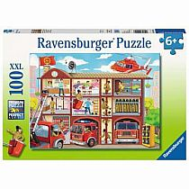 100pc Firehouse Frenzy Puzzle