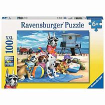 100pc No Dogs at Beach Puzzle