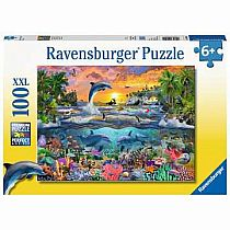 100pc Tropical Paradise Puzzle