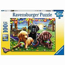 100pc Puppy Picnic Puzzle