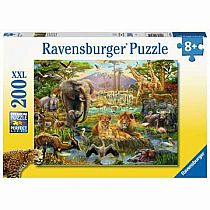 200pc Animals of the Savannah Puzzle