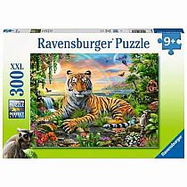 300pc Jungle Tiger Puzzle