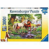 300pc Horses by the Stream Puzzle