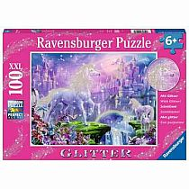 100pc Unicorn Kingdom Puzzle