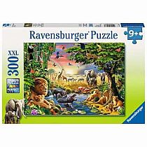 300pc Evening at the Waterhole Puzzle