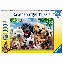 300pc Delighted Dogs Puzzle