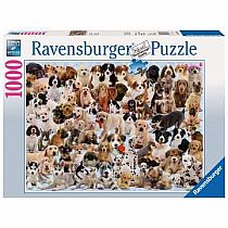 1000pc Dogs Galore Puzzle