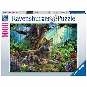 1000pc Wolves in Forest Puzzle