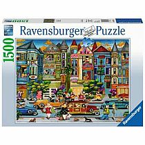 1500pc Painted Ladies Puzzle