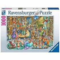 1000pc Midnight at the Library Puzzle