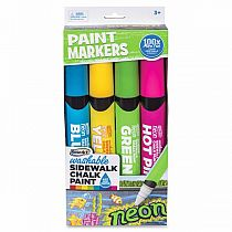 Sidewalk Chalk Paint Markers