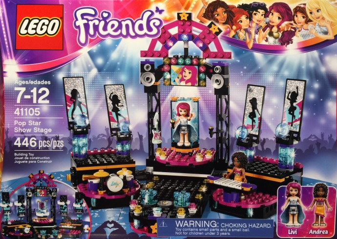 Lego Friends Pop Star Show Stage Toys Et Cetera