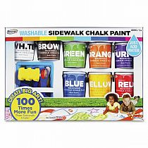 Sidewalk Chalk Deluxe Paint Set