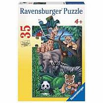 35pc Animal Kingdom Puzzle