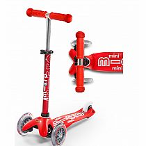 Mini Micro Deluxe Kickboard Scooter -red