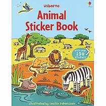First Sticker Book Animals