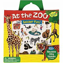 Sticker Tote: At the Zoo