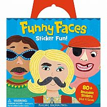 Sticker Tote: Funny Faces