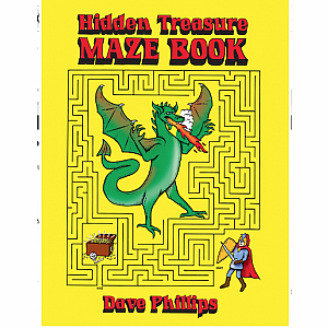 Mazes: Hidden Treasure Maze Book