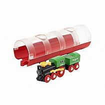 Brio Steam Train and Tunnel