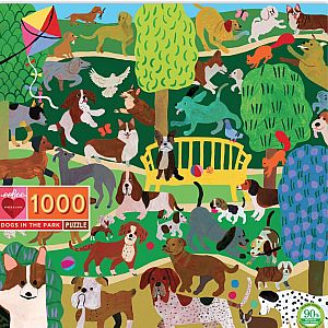 1000pc Dogs in Park Puzzle