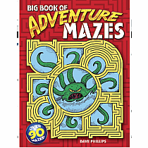 Mazes: Big Book of Adventure Mazes