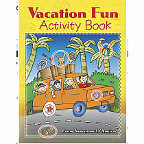 Activity Book Vacation Fun