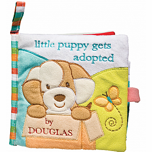 Douglas Tan Puppy Soft Activity Book