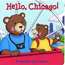 Hello Chicago! Board Book