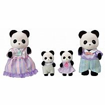 Calico Critters Pookie Panda Family
