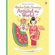 Sticker Dolly Around the World