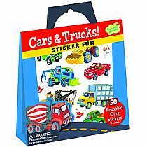 Sticker Tote: Cars & Trucks