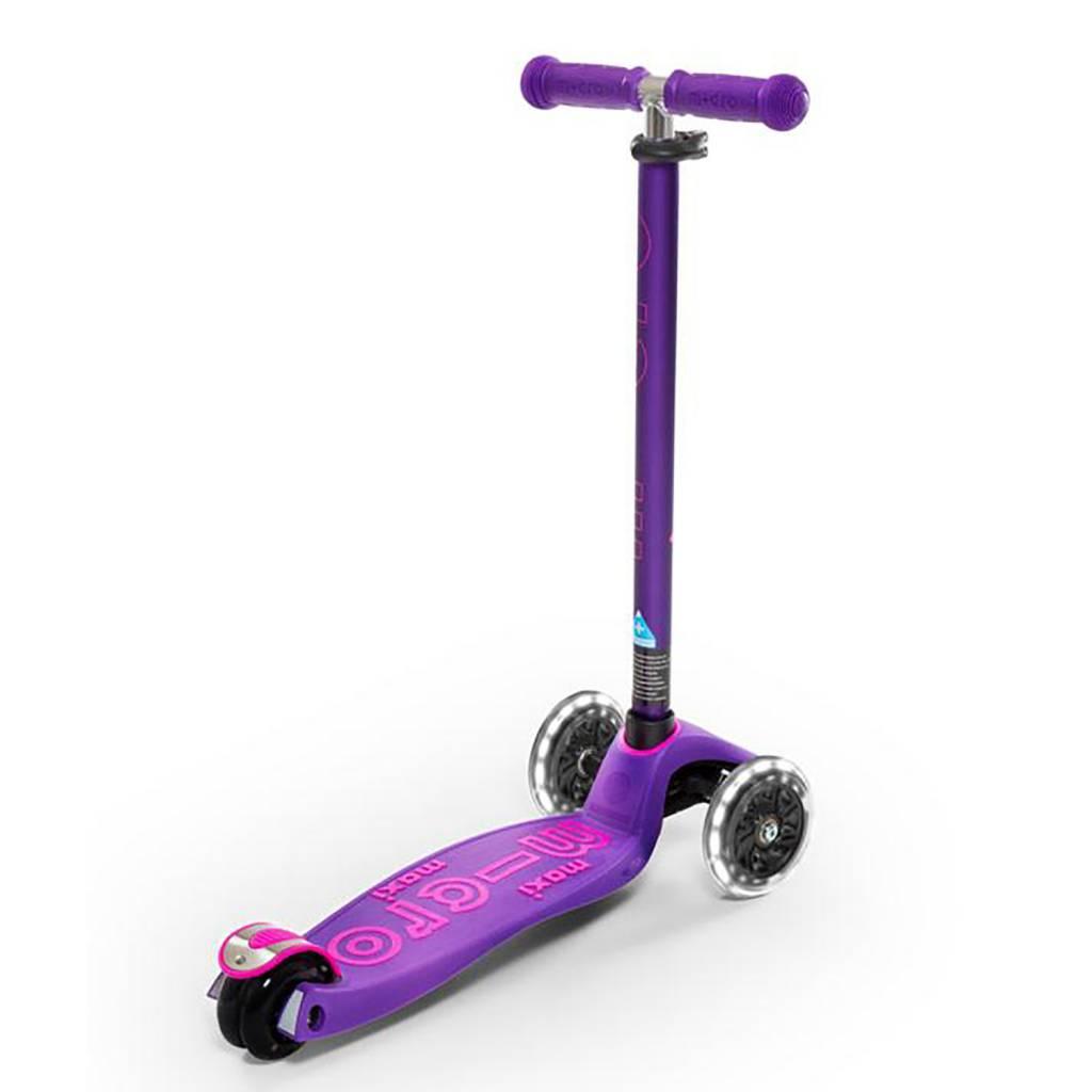 micro maxi deluxe scooter purple toys et cetera. Black Bedroom Furniture Sets. Home Design Ideas