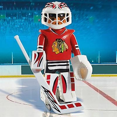 Playmobil Nhl Chicago Blackhawks Goalie Toys Et Cetera