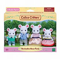 Calico Critters Marshmallow Family