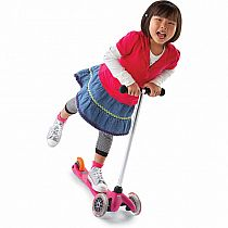 Mini Micro Kickboard Scooter - pink